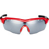 UVEX sportstyle 104 - Lunettes cyclisme - rouge/noir